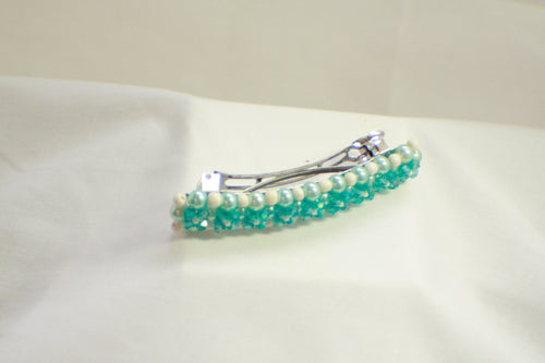 Crystal Beaded Hair Clips, Hair Barrette