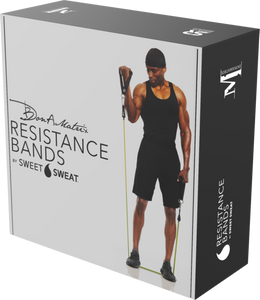 DON-A-MATRIX RESISTANCE BANDS WITH SWEET SWEAT STICK