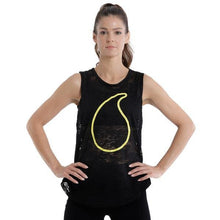 Charger l'image dans la galerie, ACTIVEWEAR BLACK BURN OUT MUSCLE TANK - sweetsweateurope