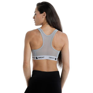 ACTIVEWEAR STRENGTH TRAINING BRA IN GREY - sweetsweateurope