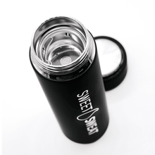 Load image into Gallery viewer, STAINLESS STEEL WATER BOTTLE WITH TEA INFUSER -17OZ - sweetsweateurope