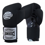 Casanova Hybrid Boxing Gloves with Lace-up All Black