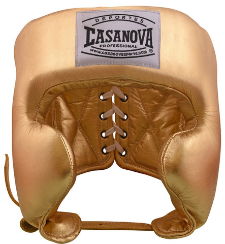 Casanova Boxing® Headgear - Gold