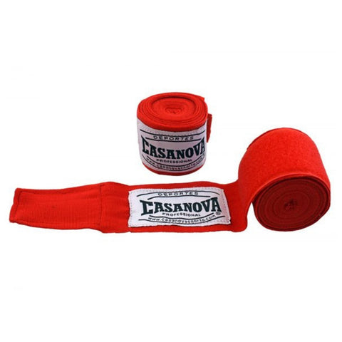 casanova extra long handwraps red