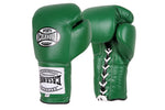 Casanova Boxing® Professional Lace Up Training Gloves - Green