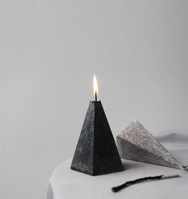 Handmade Nordic Candle - whom