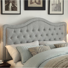 Load image into Gallery viewer, Woody Upholstered Panel Headboard