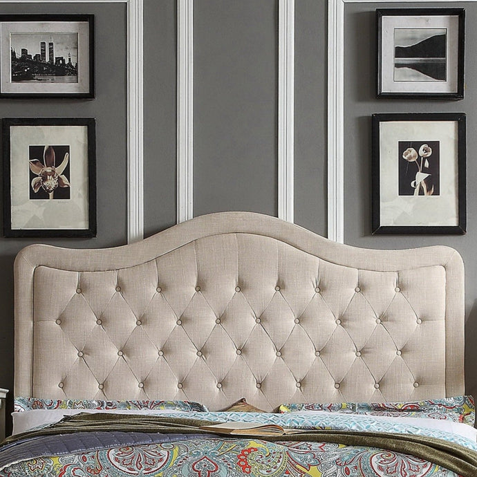 Woody Upholstered Panel Headboard
