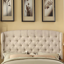 Load image into Gallery viewer, Shirley Upholstered Wingback Headboard