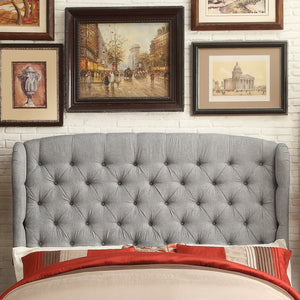 Shirley Upholstered Wingback Headboard
