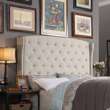Load image into Gallery viewer, Millred Upholstered Wingback Headboard