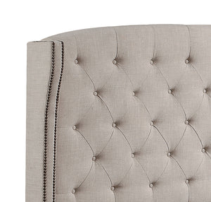 Millred Upholstered Wingback Headboard