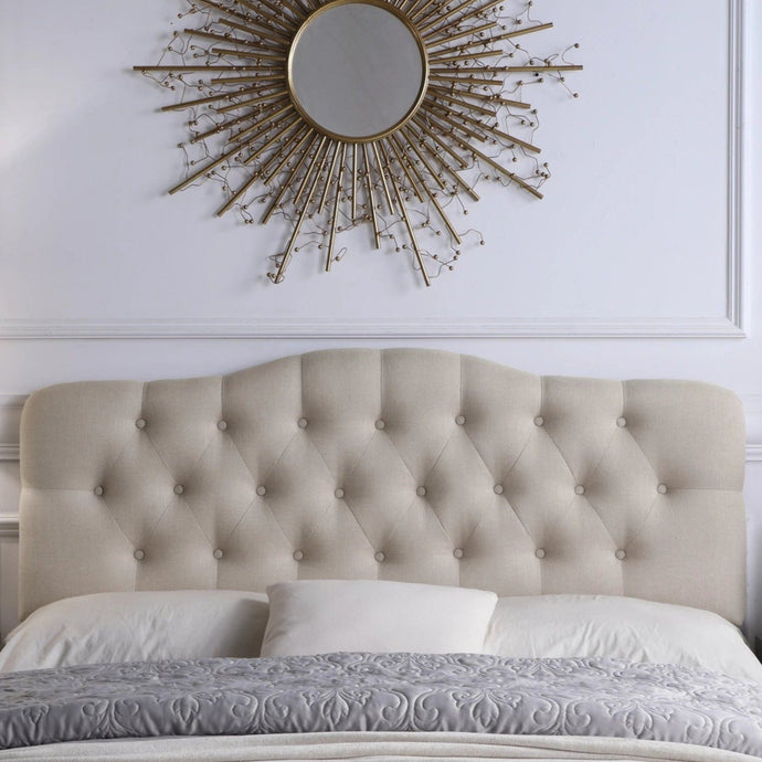 Harris Upholstered Wingback Headboard