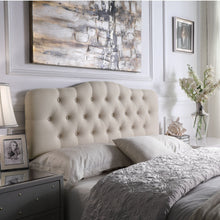 Load image into Gallery viewer, Harris Upholstered Wingback Headboard