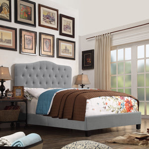 Harris Upholstered Standard Bed