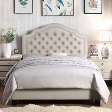 Load image into Gallery viewer, Joye Upholstered Panel Bed