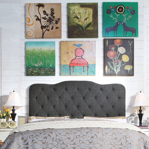 Dash Upholstered Panel Headboard