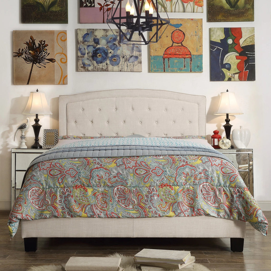 Pascal Upholstered Standard Bed