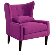 Load image into Gallery viewer, Kin Tufted Wingback Chair with Back Cushion