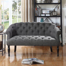 Load image into Gallery viewer, Harlow Chesterfield Tufted Settee Loveseat