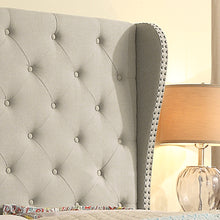 Load image into Gallery viewer, Raquella Upholstered Wingback Panel Bed