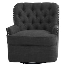 Load image into Gallery viewer, Gustava Swivel Wingback Chair