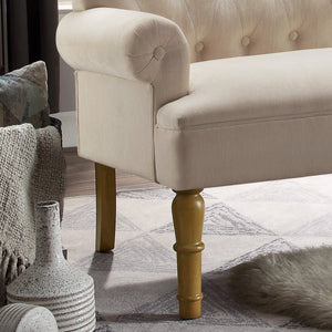 Herma Tufted Button Upholstered Loveseat