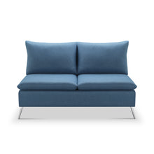"Load image into Gallery viewer, Helena 57"" Armless Loveseat"
