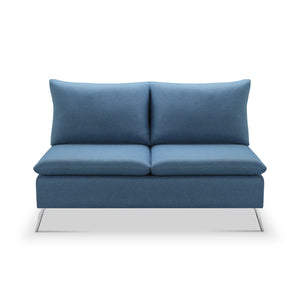 "Helena 57"" Armless Loveseat"