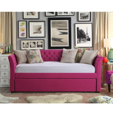 Load image into Gallery viewer, Celine Tufted Twin Size Daybed with Trundle