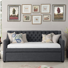 Load image into Gallery viewer, Celina Tufted Twin Size Daybed with Trundle