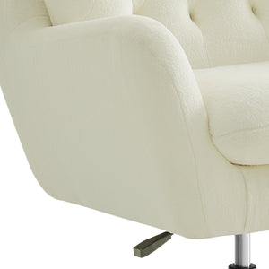 Loreali Upholstered Swivel Wingback Chair