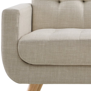 Hogwort Tufted Loveseat