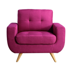 Hogwort Tufted Contemporary Armchair