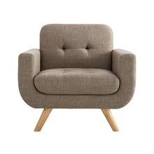 Load image into Gallery viewer, Hogwort Tufted Contemporary Armchair