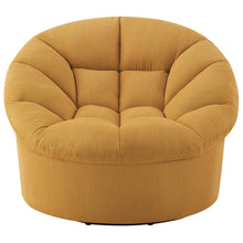 Load image into Gallery viewer, Veronica Upholstered Swivel Barrel Chair