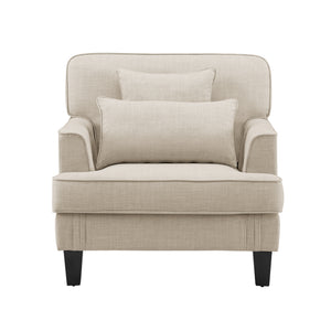 Ashley Outdoor Patio Club Chair with Cushions