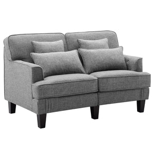 Ashley Outdoor Patio Loveseat with Cushions