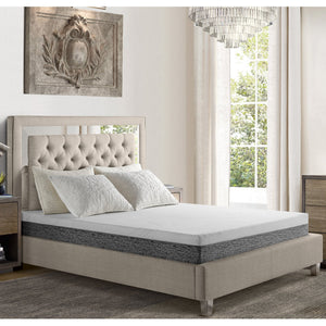 Rossa 10'' Plush Gel Memory Foam Mattress