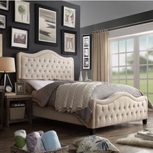 Load image into Gallery viewer, Woody Upholstered Standard Bed