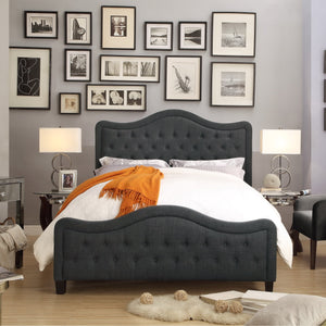 Woody Upholstered Standard Bed