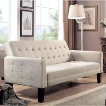 Load image into Gallery viewer, Gregory Tufted Sleeper Sofa