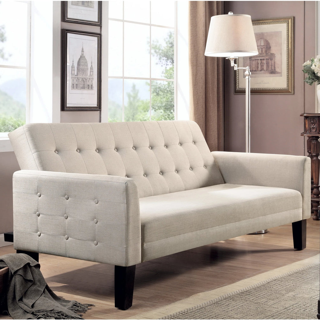 Gregory Tufted Sleeper Sofa