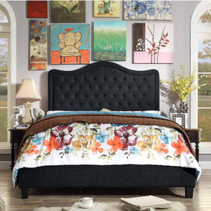 Woody Upholstered Panel Bed