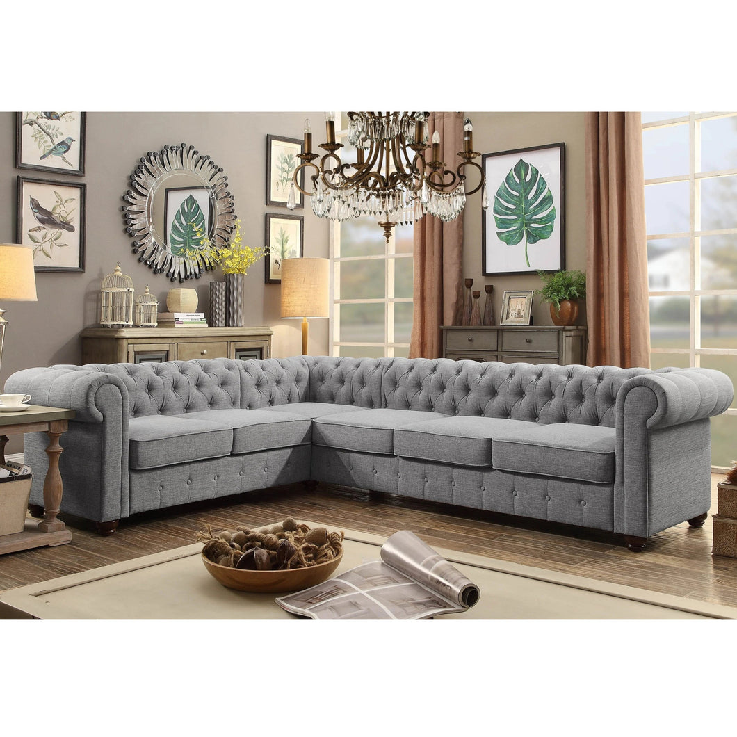 Berkeley Chesterfield 2+3 Sofa