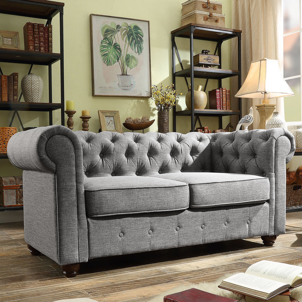 Berkeley Chesterfield Loveseat