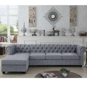"Berkeley 112"" Wide Left Hand Facing Sofa & Chaise"