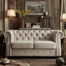 Load image into Gallery viewer, Berkeley Chesterfield Loveseat
