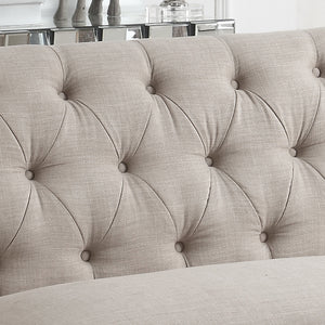 Torring Tufted Chesterfield Loveseat