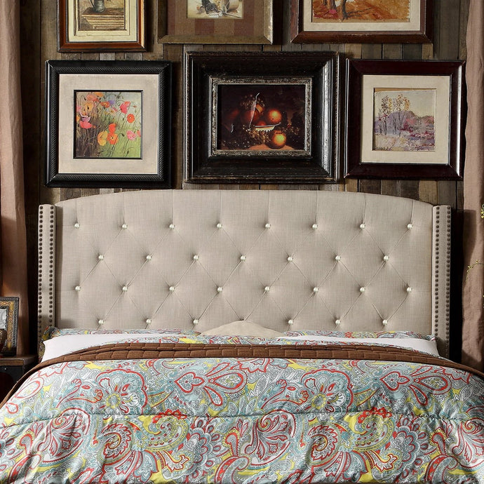 Vicmond Upholstered Panel Headboard